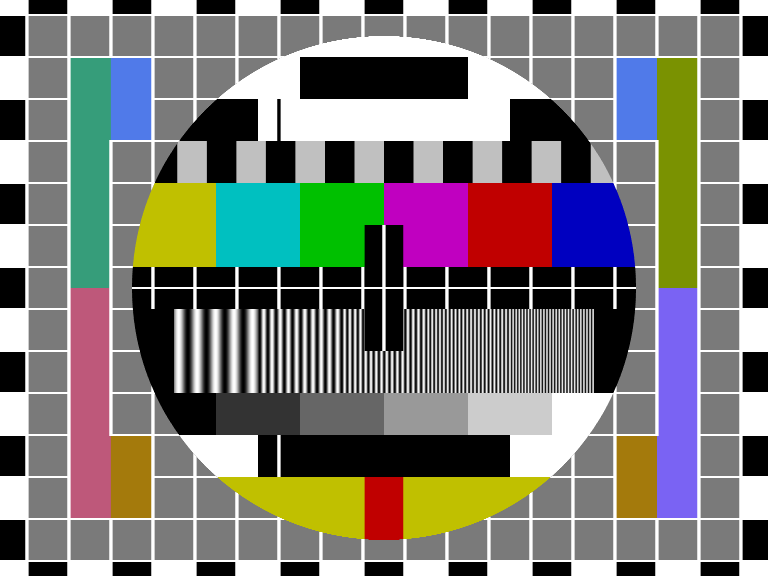 Phillips television test pattern